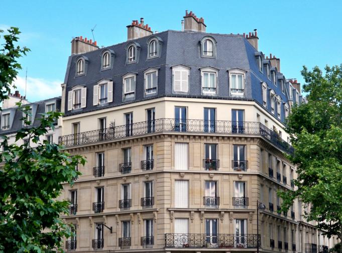 parisiansk lejlighed