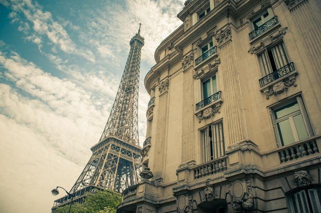 Turist i paris
